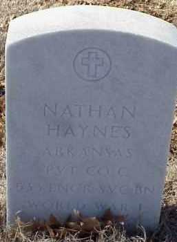 HAYNES  (VETERAN WWI), NATHAN - Pulaski County, Arkansas   NATHAN HAYNES  (VETERAN WWI) - Arkansas Gravestone Photos
