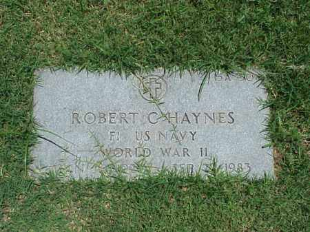 HAYNES (VETERAN WWII), ROBERT C - Pulaski County, Arkansas | ROBERT C HAYNES (VETERAN WWII) - Arkansas Gravestone Photos