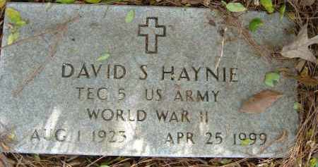HAYNIE (VETERAN WWII), DAVID S - Pulaski County, Arkansas | DAVID S HAYNIE (VETERAN WWII) - Arkansas Gravestone Photos