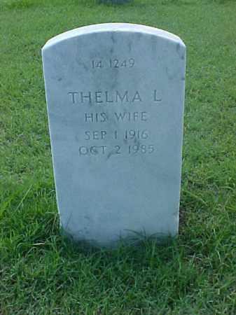 HAYNIE, THELMA L. - Pulaski County, Arkansas | THELMA L. HAYNIE - Arkansas Gravestone Photos