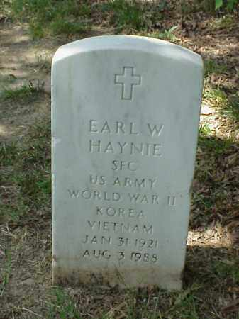 HAYNIE (VETERAN 3 WARS), EARL W - Pulaski County, Arkansas | EARL W HAYNIE (VETERAN 3 WARS) - Arkansas Gravestone Photos