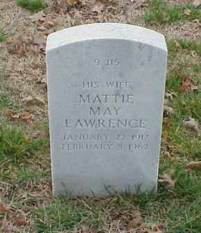 LAWRENCE HAYS, MATTIE MAY - Pulaski County, Arkansas | MATTIE MAY LAWRENCE HAYS - Arkansas Gravestone Photos