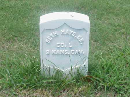 HAYS, SR (VETERAN UNION), SETH - Pulaski County, Arkansas | SETH HAYS, SR (VETERAN UNION) - Arkansas Gravestone Photos