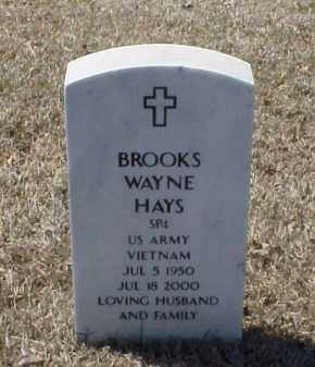 HAYS (VETERAN VIET), BROOKS WAYNE - Pulaski County, Arkansas | BROOKS WAYNE HAYS (VETERAN VIET) - Arkansas Gravestone Photos