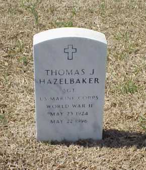 HAZELBAKER (VETERAN WWII), THOMAS J - Pulaski County, Arkansas | THOMAS J HAZELBAKER (VETERAN WWII) - Arkansas Gravestone Photos