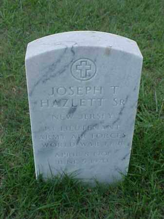 HAZLETT,SR (VETERAN 2 WARS), JOSEPH THOMAS - Pulaski County, Arkansas | JOSEPH THOMAS HAZLETT,SR (VETERAN 2 WARS) - Arkansas Gravestone Photos