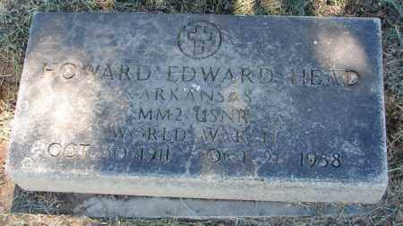 HEAD (VETERAN WWII), HOWARD EDWARD - Pulaski County, Arkansas | HOWARD EDWARD HEAD (VETERAN WWII) - Arkansas Gravestone Photos