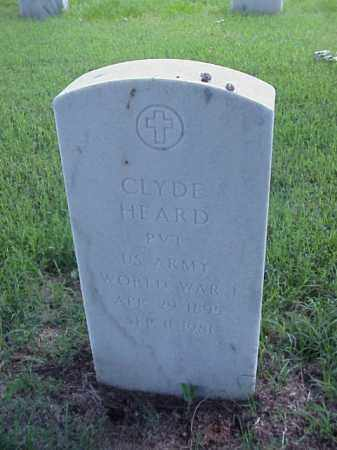 HEARD (VETERAN WWI), CLYDE - Pulaski County, Arkansas | CLYDE HEARD (VETERAN WWI) - Arkansas Gravestone Photos