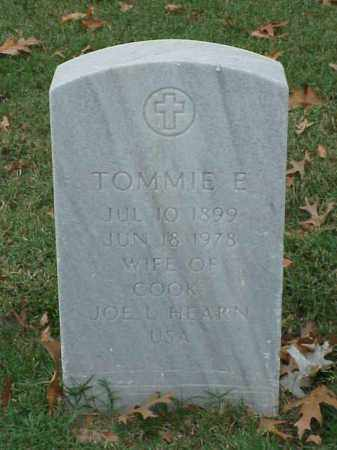 HEARN, TOMMIE E - Pulaski County, Arkansas | TOMMIE E HEARN - Arkansas Gravestone Photos