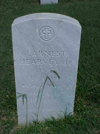 HEARVEY, JR (VETERAN WWII), EARNEST - Pulaski County, Arkansas | EARNEST HEARVEY, JR (VETERAN WWII) - Arkansas Gravestone Photos