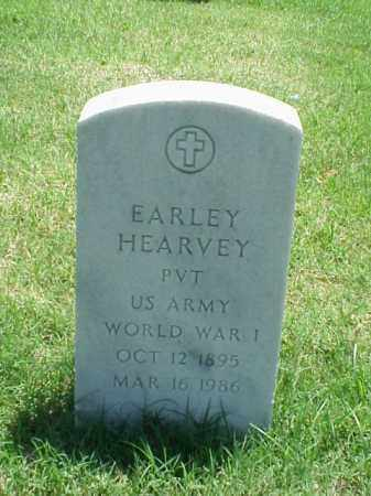 HEARVEY (VETERAN WWI), EARLEY - Pulaski County, Arkansas | EARLEY HEARVEY (VETERAN WWI) - Arkansas Gravestone Photos