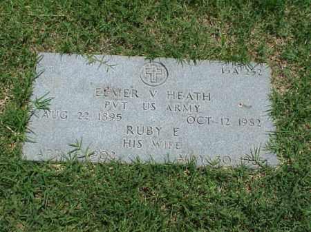 HEATH, RUBY E - Pulaski County, Arkansas   RUBY E HEATH - Arkansas Gravestone Photos