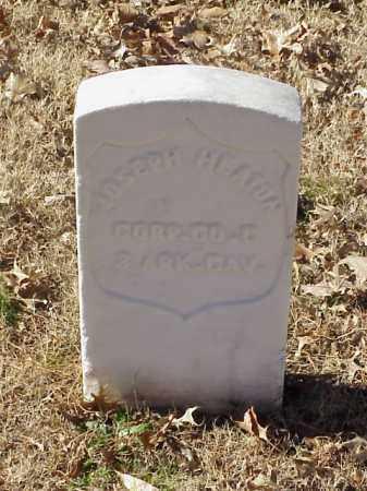 HEATON  (VETERAN UNION), JOSEPH - Pulaski County, Arkansas | JOSEPH HEATON  (VETERAN UNION) - Arkansas Gravestone Photos