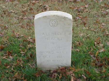 HEBERT  (VETERAN WWI), ALFRED J - Pulaski County, Arkansas | ALFRED J HEBERT  (VETERAN WWI) - Arkansas Gravestone Photos