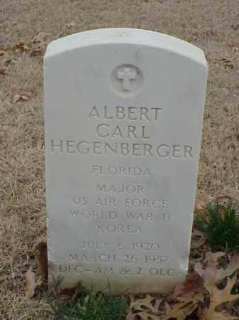 HEGENBERGER (VETERAN 2 WARS), ALBERT CARL - Pulaski County, Arkansas | ALBERT CARL HEGENBERGER (VETERAN 2 WARS) - Arkansas Gravestone Photos
