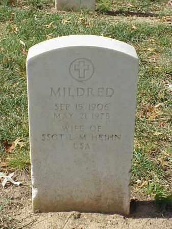 HEIHN, MILDRED - Pulaski County, Arkansas   MILDRED HEIHN - Arkansas Gravestone Photos