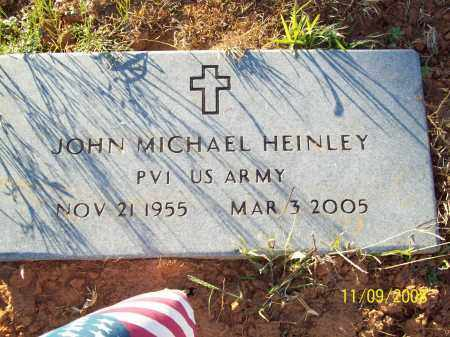 HEINLEY  (VETERAN), JOHN MICHAEL - Pulaski County, Arkansas | JOHN MICHAEL HEINLEY  (VETERAN) - Arkansas Gravestone Photos