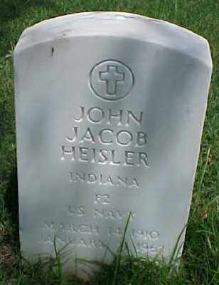 HEISLER (VETERAN WWII), JOHN JACOB - Pulaski County, Arkansas | JOHN JACOB HEISLER (VETERAN WWII) - Arkansas Gravestone Photos