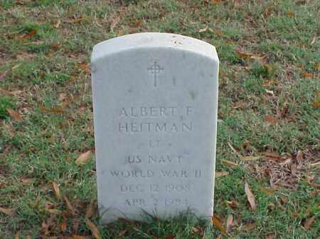 HEITMAN  (VETERAN WWII), ALBERT F - Pulaski County, Arkansas | ALBERT F HEITMAN  (VETERAN WWII) - Arkansas Gravestone Photos