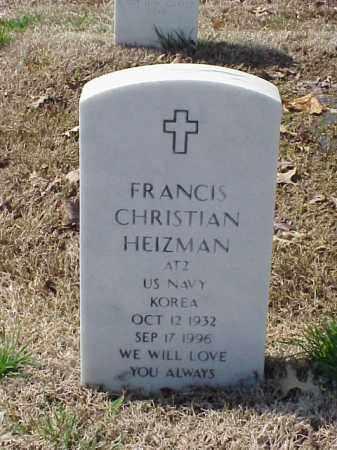 HEIZMAN (VETERAN KOR), FRANCIS CHRISTIAN - Pulaski County, Arkansas | FRANCIS CHRISTIAN HEIZMAN (VETERAN KOR) - Arkansas Gravestone Photos