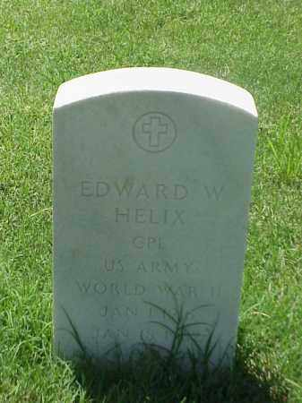 HELIX (VETERAN WWII), EDWARD W - Pulaski County, Arkansas | EDWARD W HELIX (VETERAN WWII) - Arkansas Gravestone Photos