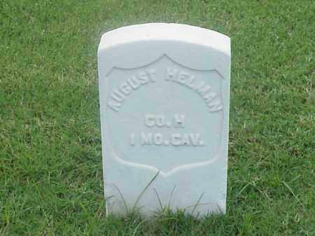 HELMAN (VETERAN UNION), AUGUST - Pulaski County, Arkansas | AUGUST HELMAN (VETERAN UNION) - Arkansas Gravestone Photos