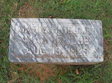 HELMER, MARIE H - Pulaski County, Arkansas | MARIE H HELMER - Arkansas Gravestone Photos