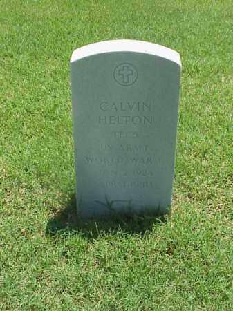 HELTON (VETERAN WWII), CALVIN - Pulaski County, Arkansas | CALVIN HELTON (VETERAN WWII) - Arkansas Gravestone Photos