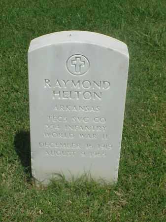 HELTON (VETERAN WWII), RAYMOND - Pulaski County, Arkansas | RAYMOND HELTON (VETERAN WWII) - Arkansas Gravestone Photos