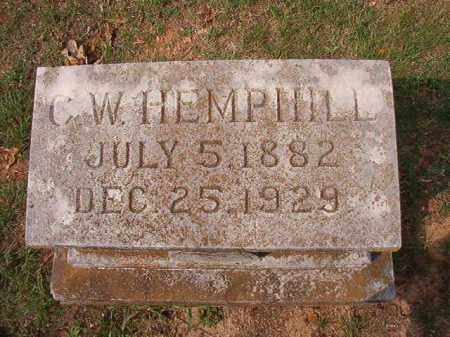 HEMPHILL, C W - Pulaski County, Arkansas | C W HEMPHILL - Arkansas Gravestone Photos
