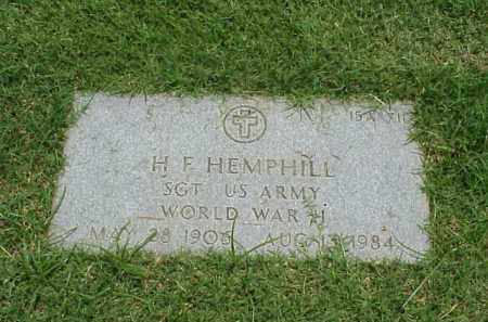 HEMPHILL (VETERAN WWII), H F - Pulaski County, Arkansas | H F HEMPHILL (VETERAN WWII) - Arkansas Gravestone Photos