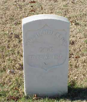 HENDERSON  (VETERAN UNION), WILLIAM - Pulaski County, Arkansas | WILLIAM HENDERSON  (VETERAN UNION) - Arkansas Gravestone Photos