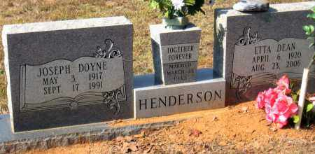 HENDERSON, JOSEPH DOYNE - Pulaski County, Arkansas | JOSEPH DOYNE HENDERSON - Arkansas Gravestone Photos