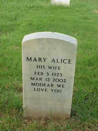 HENDERSON, MARY ALICE - Pulaski County, Arkansas   MARY ALICE HENDERSON - Arkansas Gravestone Photos