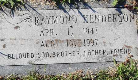 HENDERSON, RAYMOND - Pulaski County, Arkansas | RAYMOND HENDERSON - Arkansas Gravestone Photos