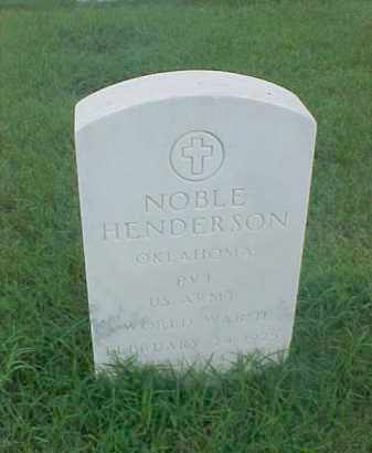 HENDERSON (VETERAN  WWII), NOBLE - Pulaski County, Arkansas | NOBLE HENDERSON (VETERAN  WWII) - Arkansas Gravestone Photos
