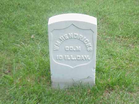 HENDRICKS (VETERAN UNION), WILLIAM - Pulaski County, Arkansas | WILLIAM HENDRICKS (VETERAN UNION) - Arkansas Gravestone Photos
