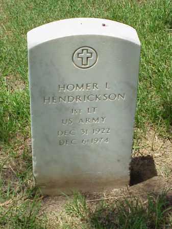 HENDRICKSON (VETERAN), HOMER L - Pulaski County, Arkansas | HOMER L HENDRICKSON (VETERAN) - Arkansas Gravestone Photos