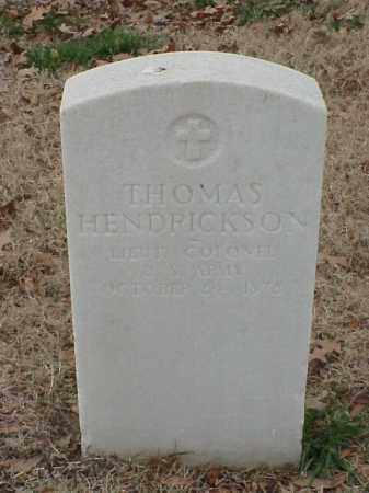 HENDRICKSON (VETERAN UNION), THOMAS - Pulaski County, Arkansas | THOMAS HENDRICKSON (VETERAN UNION) - Arkansas Gravestone Photos