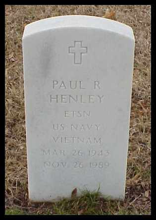 HENLEY (VETERAN VIET), PAUL R - Pulaski County, Arkansas | PAUL R HENLEY (VETERAN VIET) - Arkansas Gravestone Photos