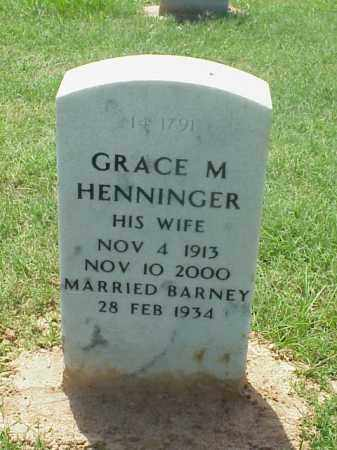 HENNINGER, GRACE M - Pulaski County, Arkansas | GRACE M HENNINGER - Arkansas Gravestone Photos