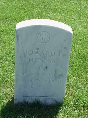 HENNIS (VETERAN 2 WARS), HOWARD L - Pulaski County, Arkansas | HOWARD L HENNIS (VETERAN 2 WARS) - Arkansas Gravestone Photos