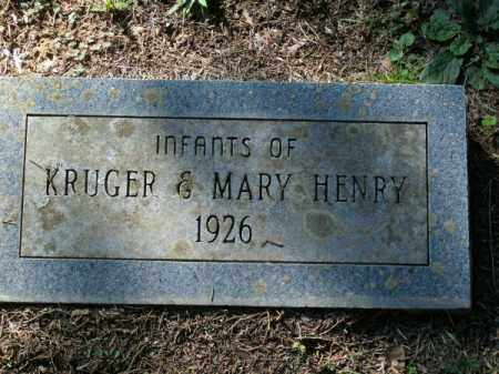 HENRY, INFANTS - Pulaski County, Arkansas | INFANTS HENRY - Arkansas Gravestone Photos