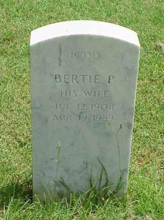 HENSLEE, BERTIE P - Pulaski County, Arkansas | BERTIE P HENSLEE - Arkansas Gravestone Photos