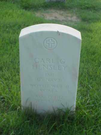 HENSLEY (VETERAN 2 WARS), CARL G - Pulaski County, Arkansas | CARL G HENSLEY (VETERAN 2 WARS) - Arkansas Gravestone Photos