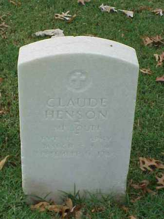 HENSON  (VETERAN WWI), CLAUDE - Pulaski County, Arkansas | CLAUDE HENSON  (VETERAN WWI) - Arkansas Gravestone Photos