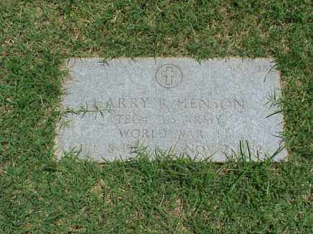 HENSON (VETERAN WWII), HARRY R - Pulaski County, Arkansas | HARRY R HENSON (VETERAN WWII) - Arkansas Gravestone Photos