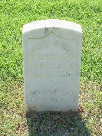 HENZE (VETERAN SAW), HENRY - Pulaski County, Arkansas | HENRY HENZE (VETERAN SAW) - Arkansas Gravestone Photos