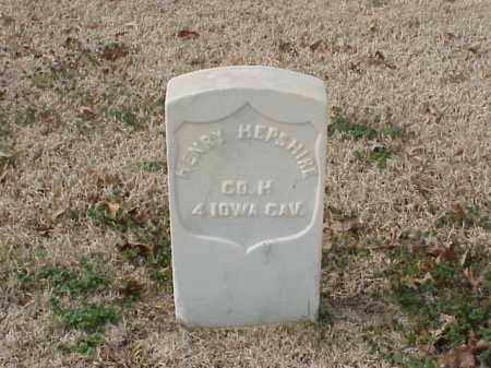 HEPSHIRE  (VETERAN UNION), HENRY - Pulaski County, Arkansas | HENRY HEPSHIRE  (VETERAN UNION) - Arkansas Gravestone Photos