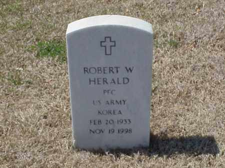 HERALD (VETERAN KOR), ROBERT WOODROW - Pulaski County, Arkansas | ROBERT WOODROW HERALD (VETERAN KOR) - Arkansas Gravestone Photos